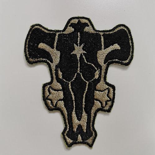 Patch Schwarzer Stier aus Black Clover