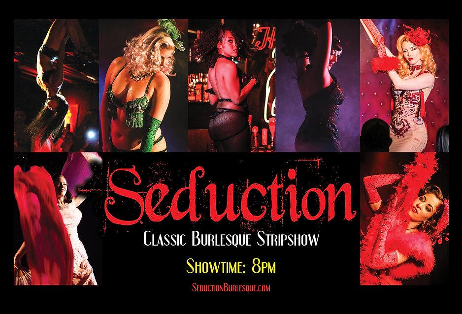 Seduction Burlesque Harvelle's Long Beach