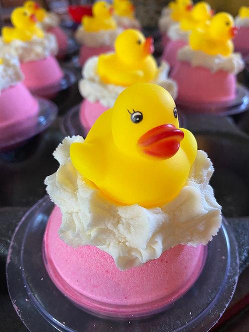 Very Berry Rubber Ducky Bath Bombs