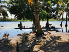 View of the Lake Farihy from Andranokoditra village