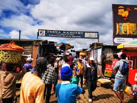 Tsena Sabotsy market in Antsirabe