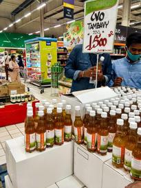 Covid-Organics in the supermarket