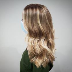 Blonde Hair Style - Liv Hair - Calgary H