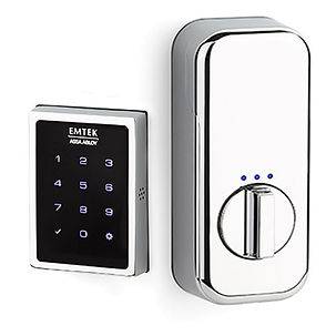 Emtek EMPowered™ Motorized Touchscreen Keypad Deadbolt