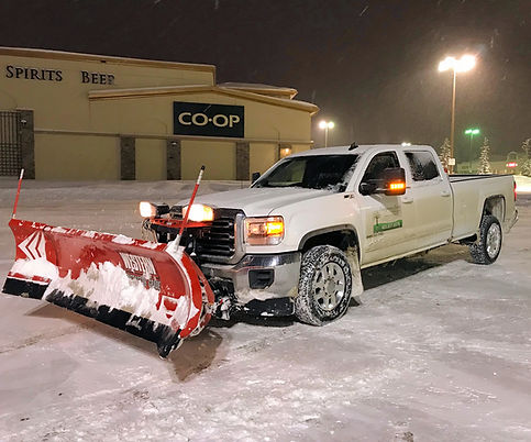 Snow Plowing and Removal Services Calgar