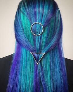 Peacock Hairstyle - Liv Hair - Calgary H