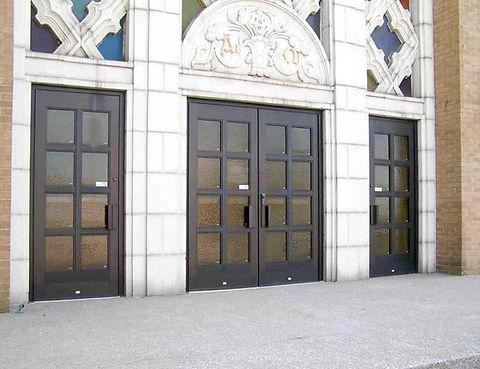 Wood and Fibreglass Doors