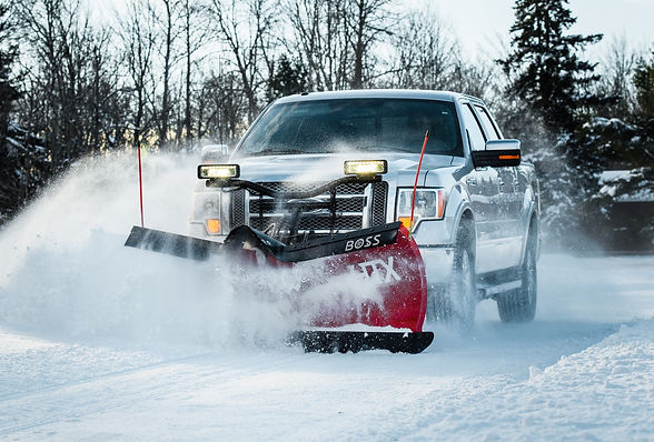 Snow Plowing Removal Calgary - Evergreen