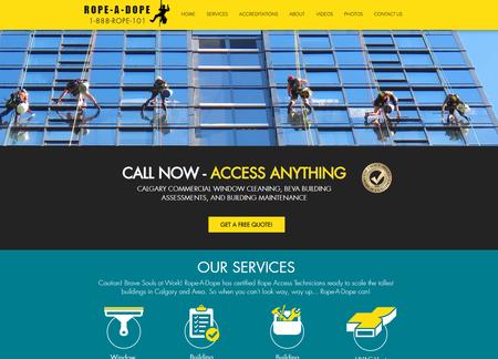 Rope-A-Dope Website Design - Calgary - b