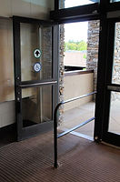 Approach Side Door Mounted Safety Sensor