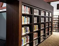 Wood Library Shelving