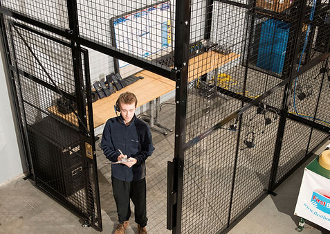 Metal Security Cages