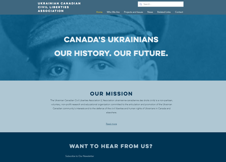 UCCLA Website Design - Calgary - bizfron