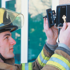 Fire Department Lockboxes Help Reduce Damage, Save Lives