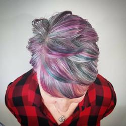 Multi Color Hair Style - Liv Hair - Hair