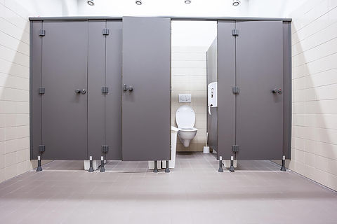 Toilet Stall, Partition & Lock Repair & Maintenance