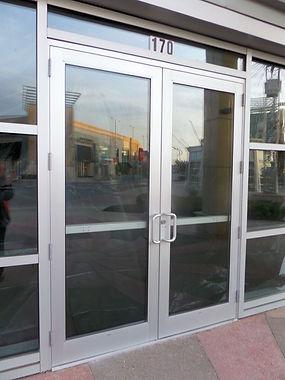 Aluminum Door Repair & Maintenance
