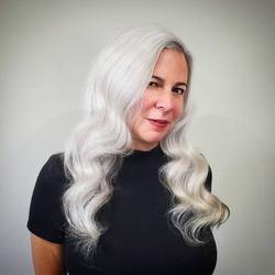 White Hairstyle  - Liv Hair - Calgary Ha