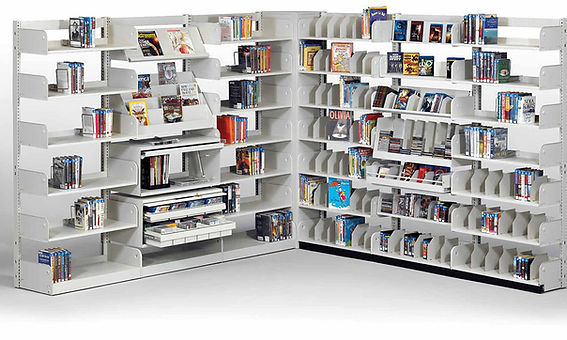 Cantilever Library Shelving