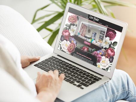 Liv Hair's New Website Reflects Spirit of Salon
