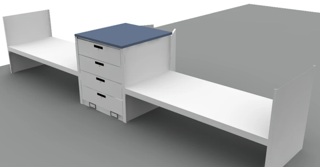 Pair of Quik-Beds Bunker Beds
