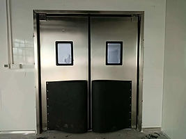 Impact and Crash Door Repair & Maintenance