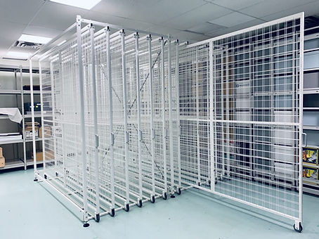 Mobile Art Storage Rack
