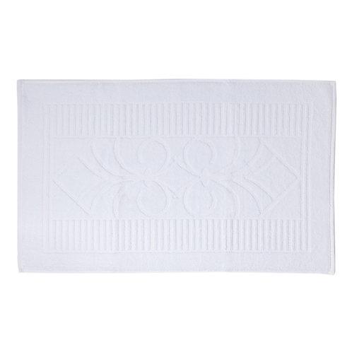 שטיחון אמבט White & Linen - לבן
