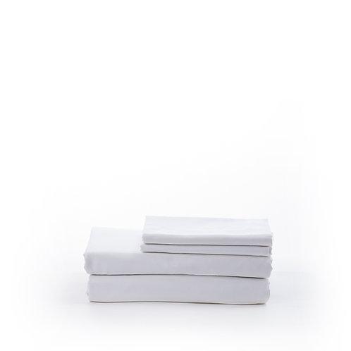 סט סאטן 500 White