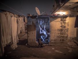 Performance Artist in Kinshasa