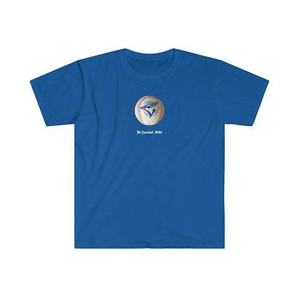 Blue Jays Logo Ball by The Baseball Artist