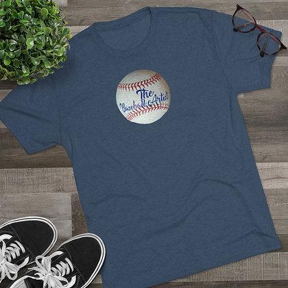 The Baseball Artist Big Logo Men's Tee
