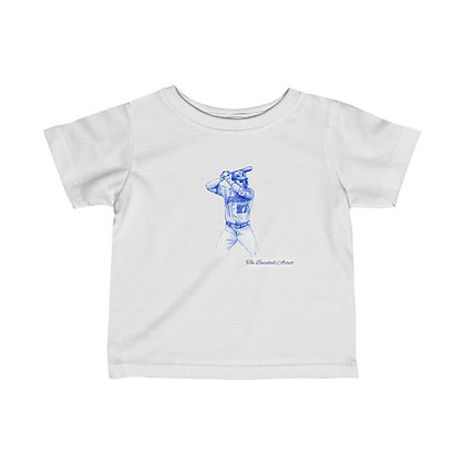 Mike Trout by The Baseball Artist Infant Tee