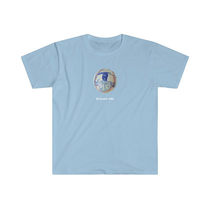Bo Jackson by The Baseball Artist T-Shirt