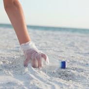 Clean up the beach