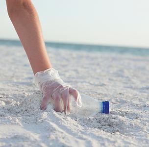 Den Strand reinigen