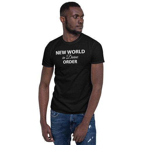 New World in Divine Order - Mantra T-Shirt