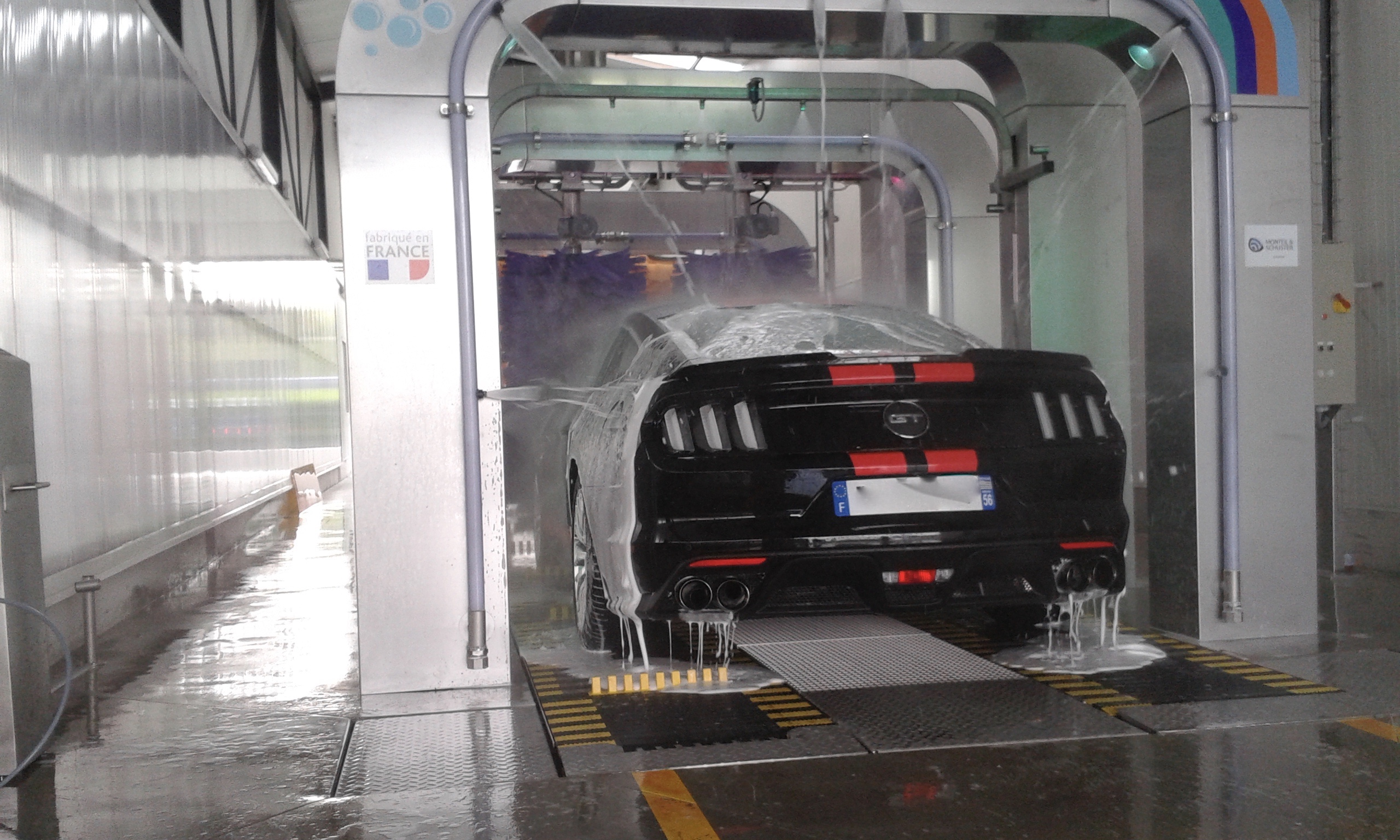 Otonaet - Vannes tunnel lavage voitu