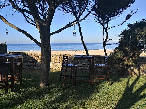 Garten unserer Apartments in Bolonia (2)