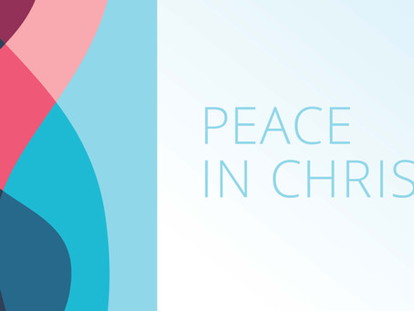 Writing Peace in Christ – the 2018 Mutual Theme Song