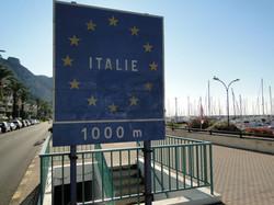 Frontière Italienne