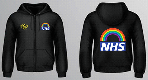 NHS Women's Zip Up Hoodie
