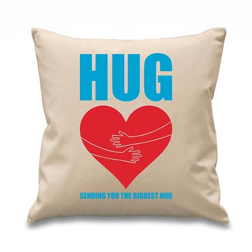 Love Heart HUG Cushion Cover