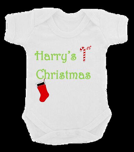 1st Christmas Vest