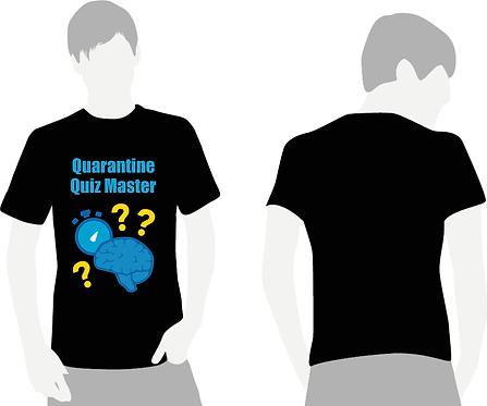 Quarantine Quiz Master T-Shirt