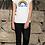 Thumbnail: Ladies Rainbow Thank You T-Shirt