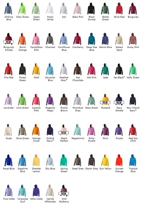 Adult Colours