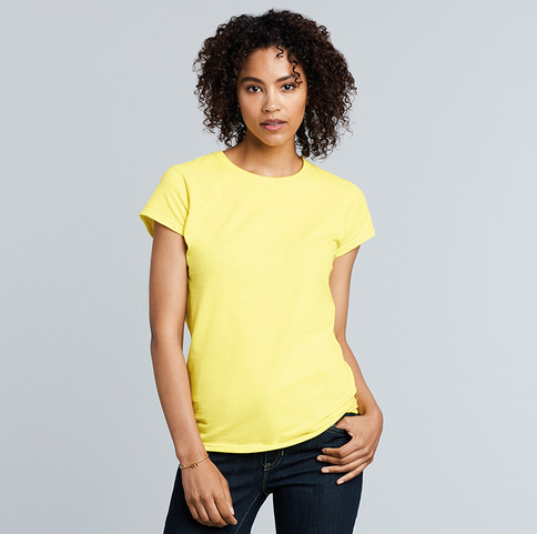 CMY076 - Women's Softstyle Cotton T-Shirts