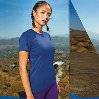 CMY024 - Women's Ventilation Poly T-Shirt