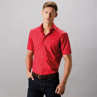 CMY141 Men's Short Sleeve Shirt (tailored fit)
